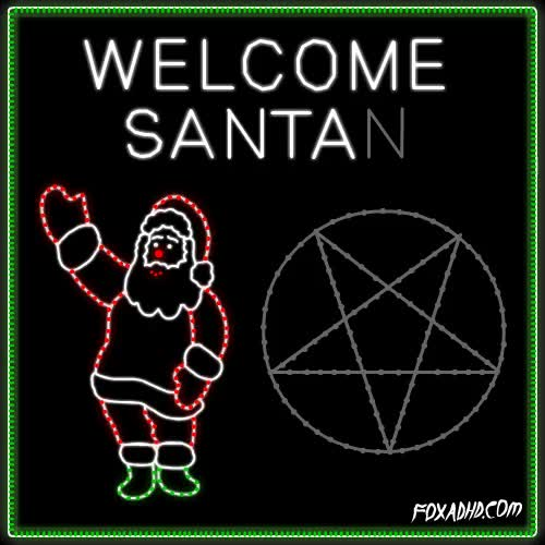 Watch and share Satan Santa GIFs on Gfycat
