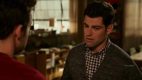 Watch and share Max Greenfield GIFs and New Girl GIFs by reactionclub on Gfycat