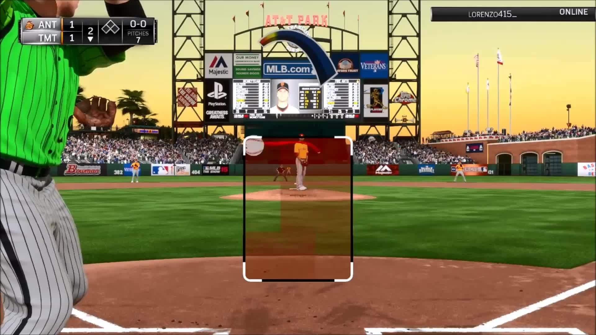 mlbtheshow, Impossible GIFs