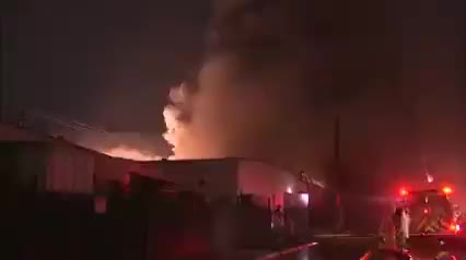 Watch and share Firefighters Attempting To Put Out A Magnesium Fire GIFs by tothetenthpower on Gfycat