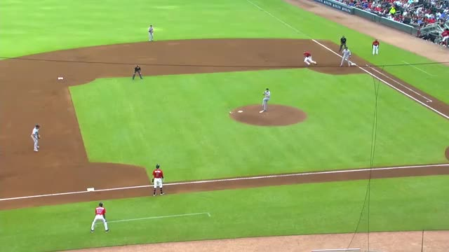 Watch this atlanta braves GIF by handlit33 (@handlit33) on Gfycat. Discover more atlanta braves, baseball, braves, freddie freeman, second, standing, steals GIFs on Gfycat