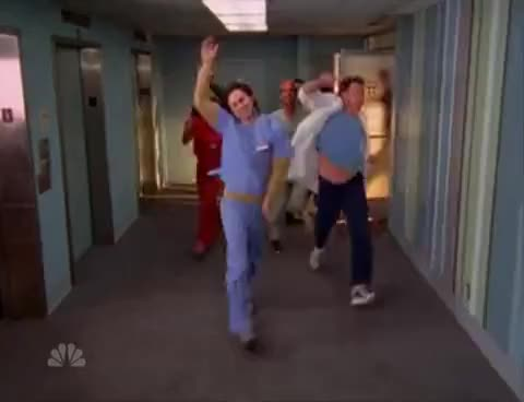 "Watch [scrubs] -- Stealing Scrubs -- from ""My Scrubs"" GIF on Gfycat. Discover more related GIFs on Gfycat"