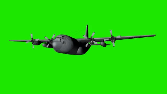 Watch and share Airplane C 130 Green Screen GIFs on Gfycat
