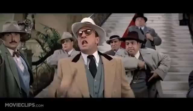 Watch The Untouchables (6/10) Movie CLIP - You Got Nothing! (1987) HD GIF on Gfycat. Discover more related GIFs on Gfycat