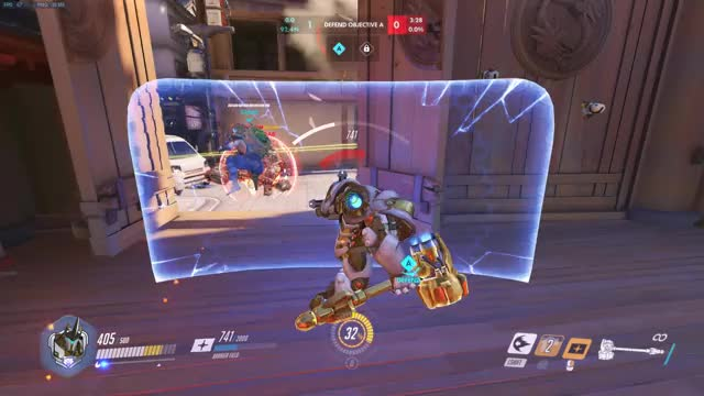 Watch and share Overwatch GIFs and Reinhardt GIFs by dooper on Gfycat