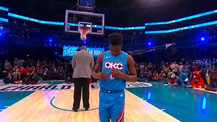 Watch and share Hamidou Diallo — 2019 Slam Dunk Contest GIFs by Off-Hand on Gfycat