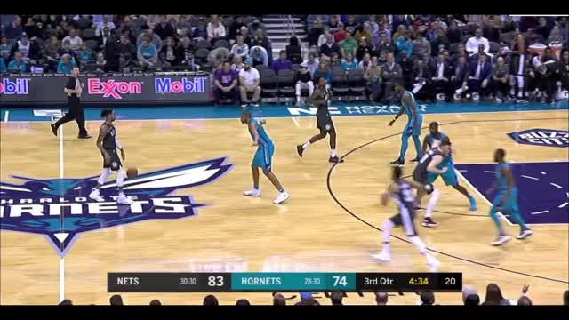 Watch and share Charlotte Hornets GIFs and Brooklyn Nets GIFs by eovleovl on Gfycat