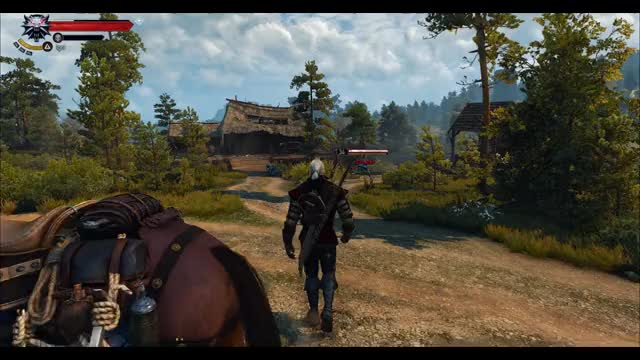 Watch and share Witcher 3 GIFs and Combat GIFs by leviticat on Gfycat