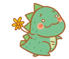 Watch Cute little dinosaur emoticons emoji GIF on Gfycat. Discover more animated, sticker, transparent GIFs on Gfycat