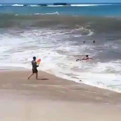 Imma go surfing