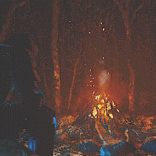 Watch and share Campfire 03 GIFs by Acorn Bringer on Gfycat