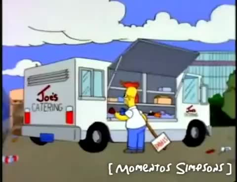 Watch and share Los Simpsons - Donde Está Mi Hamburguesa? GIFs on Gfycat