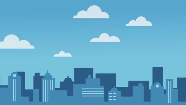 Watch and share EmployerPass - Skyline Animated V4 GIFs on Gfycat