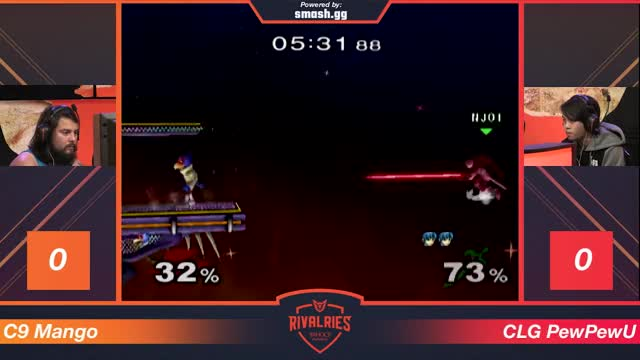 Smash Rivalries - MANG0 vs PEWPEWU - Winners Round 1