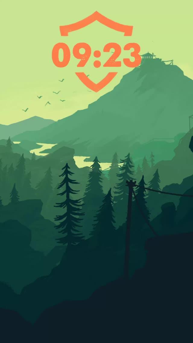 Watch and share Firewatch Theme GIFs by loleinonadod on Gfycat