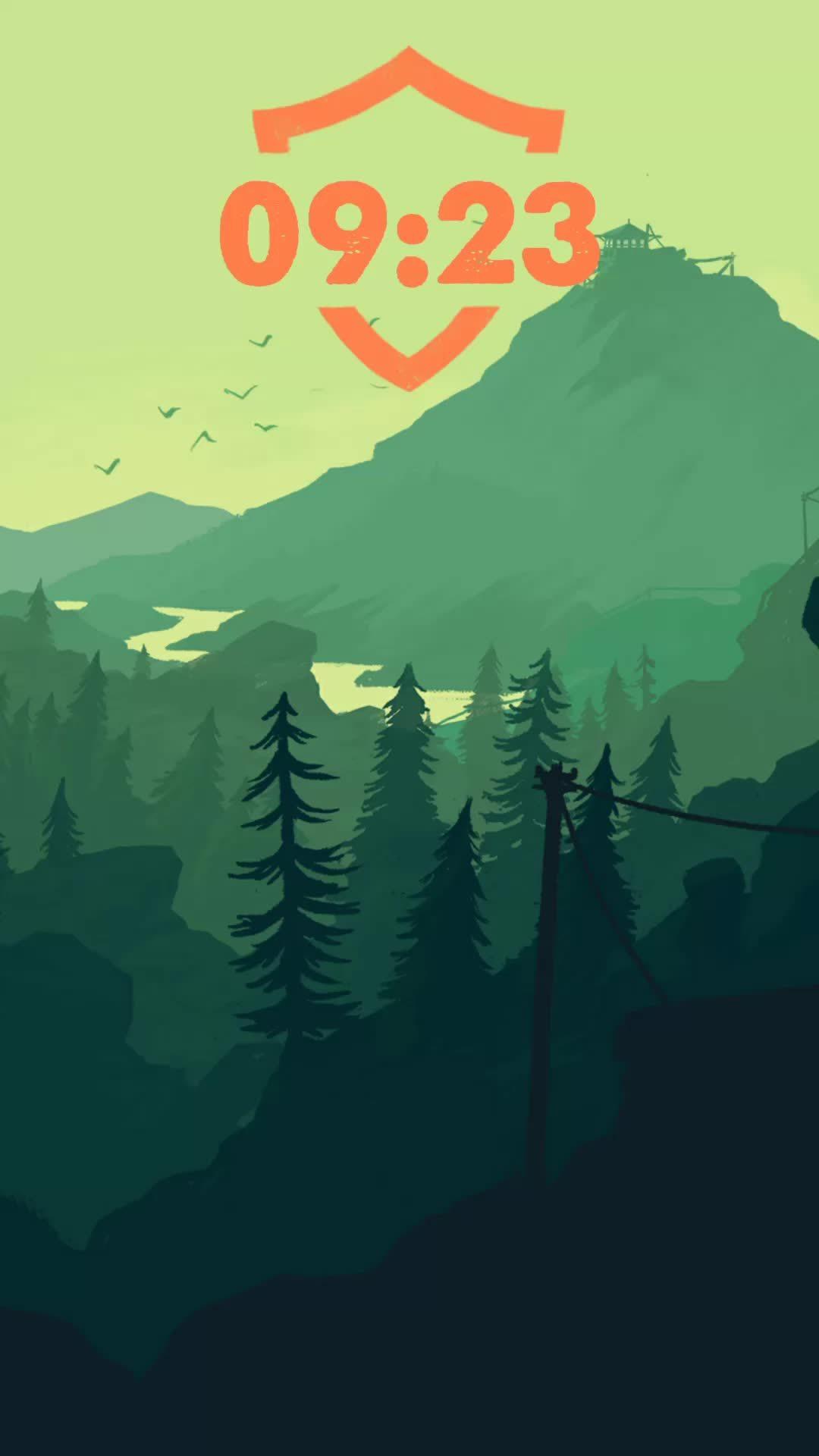 androidthemes, Firewatch Theme GIFs