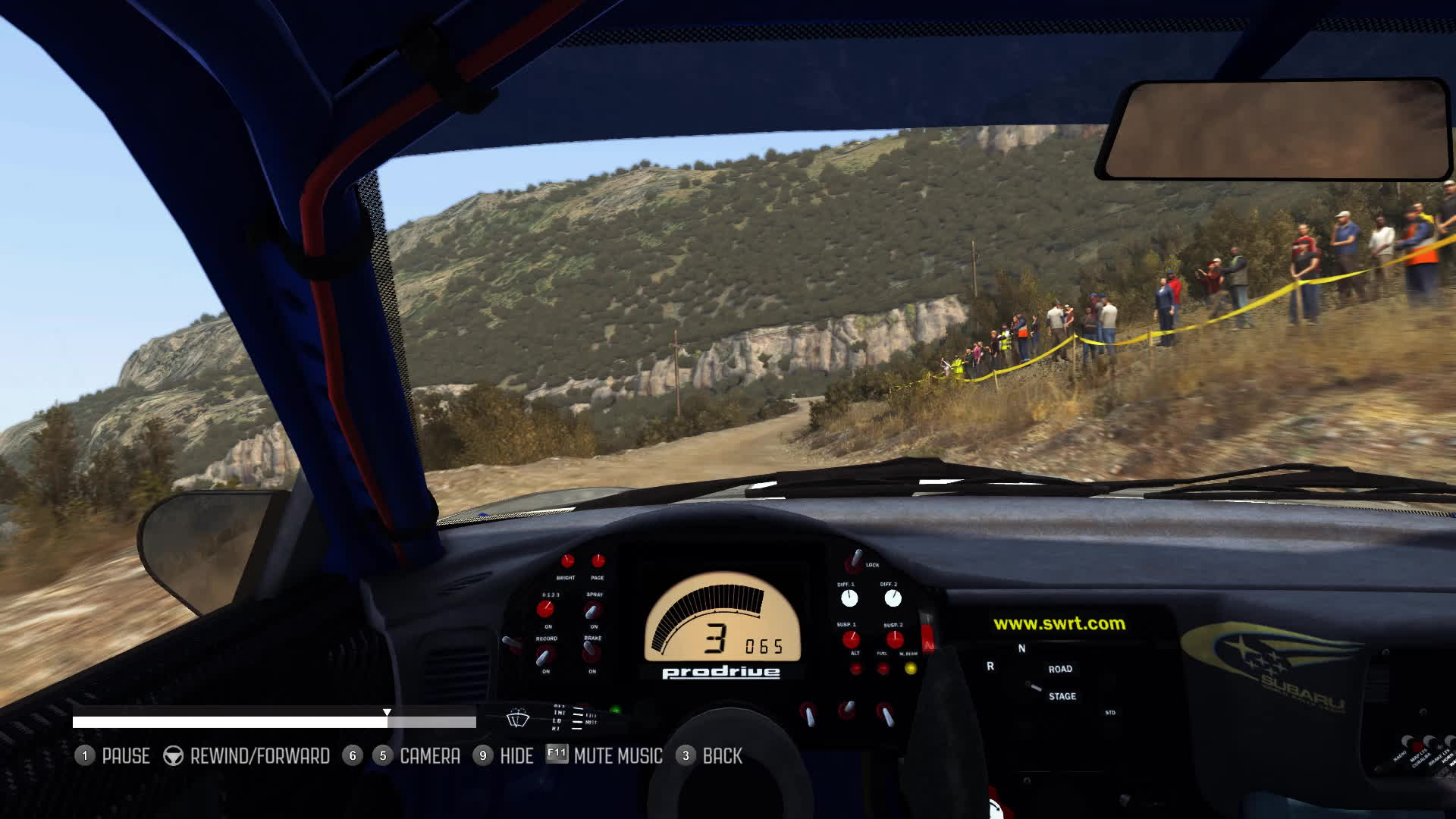 dirtgame, gaming, rally, Pendulum Turn From Inside GIFs