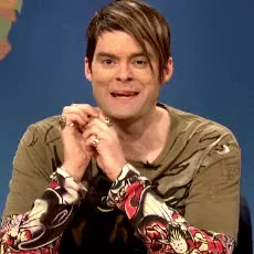 Watch Some of my favourite characters Bill played on SNL! GIF on Gfycat. Discover more bill hader, comedy, dateline, fred armisen, funny, gif, gif set, herb welch, james carville, keith morrison, kristen wiig, saturday night live, seth meyers, snl, stefon, the californians, the vogelchecks, vincent price, vinny talks GIFs on Gfycat
