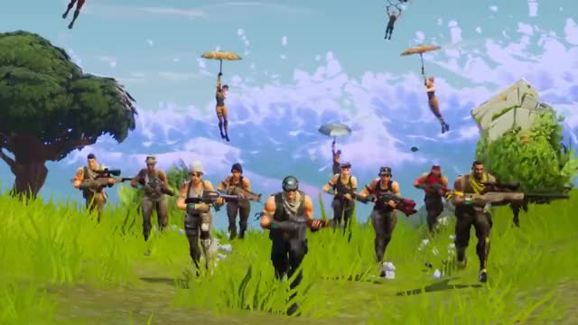Watch and share Fortnite Battle Royale - 50v50 GIFs on Gfycat