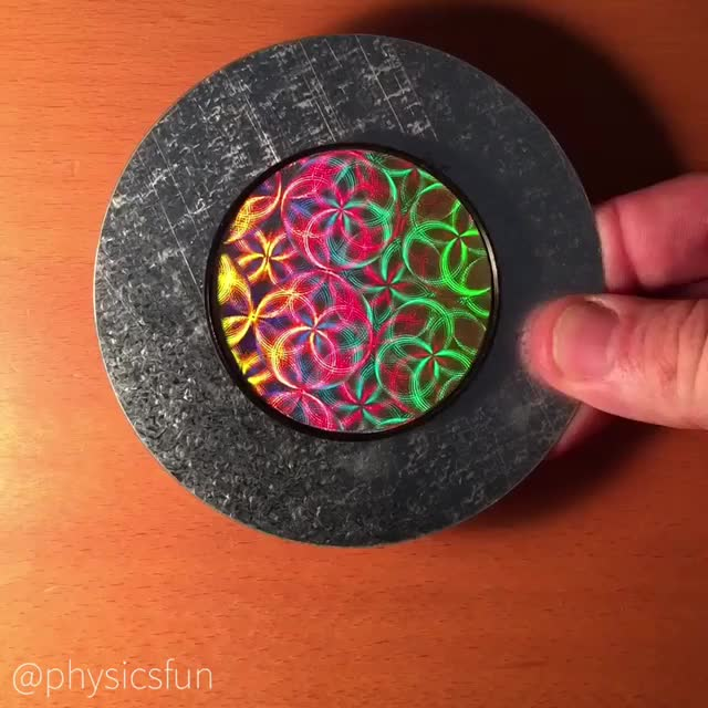 Watch and share Reflective Diffraction Kinetic Art GIFs by the-mitr on Gfycat