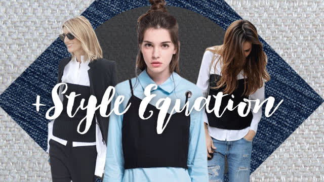 style equation tube top and button down cab GIFs