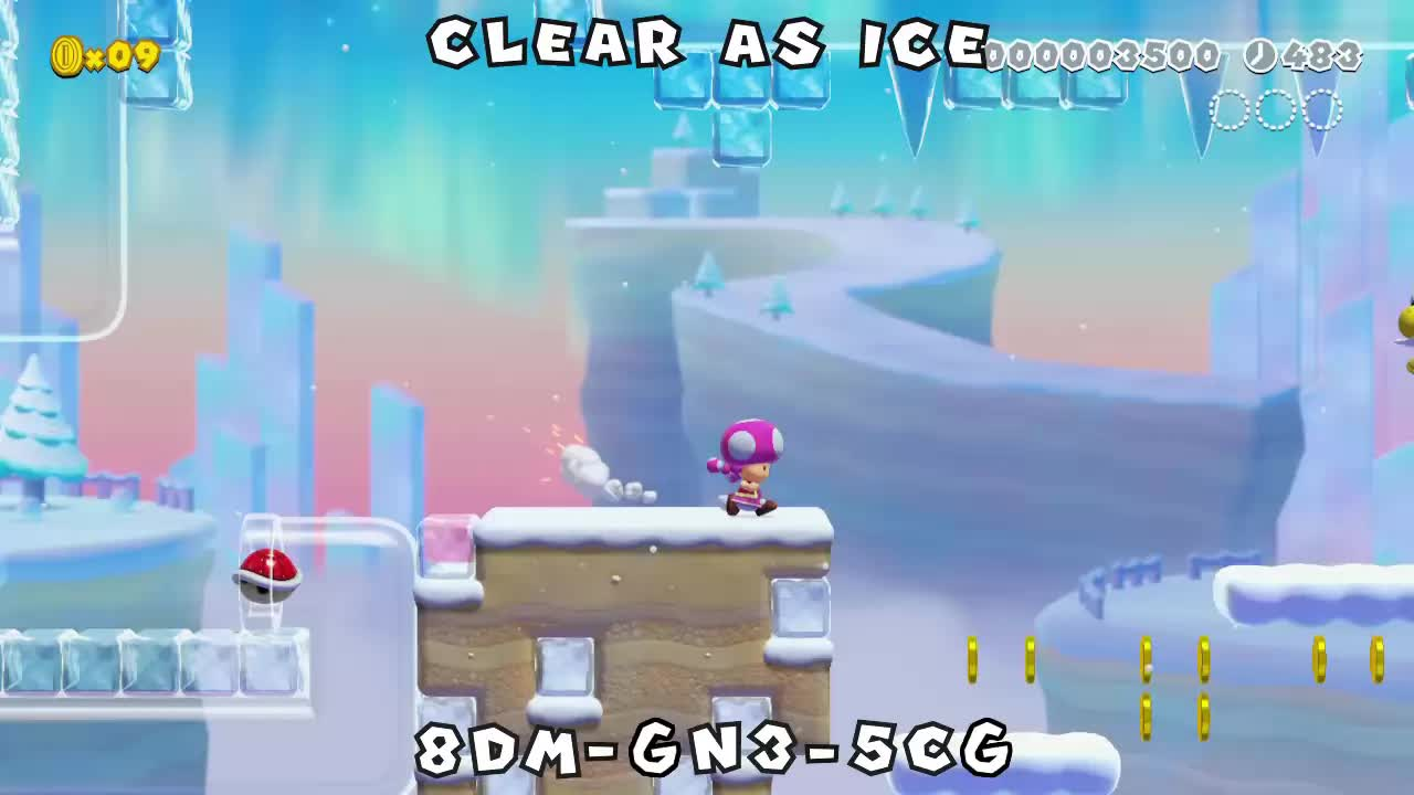 mario_maker, mario_maker_2, mariomaker, mariomaker2, Clear as Ice GIFs