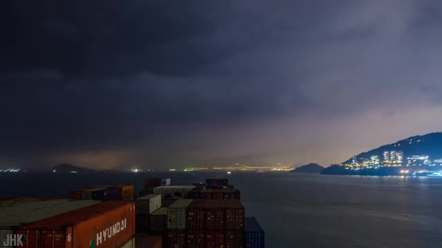 Watch MEGA CONTAINER SHIP passing Hong Kong to China - 4K Timelapse | Life at Sea GIF on Gfycat. Discover more OOCL Atlanta, Timelapse, cargo ship timelapse, container ship, container ship 4k, container ship time lapse, deck officer, hong kong ship, oocl container ship, ship timelapse GIFs on Gfycat