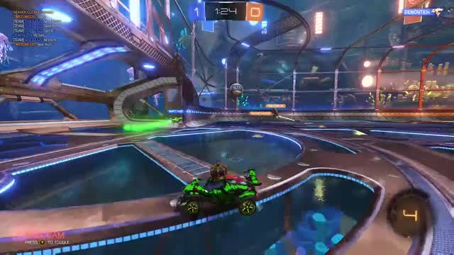 Faux Five playing Rocket League