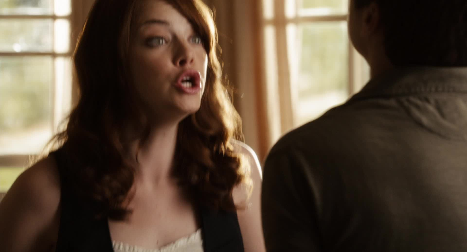 absolutely, easy a, emma, emma stone, no, no!, not, stone, NO! GIFs