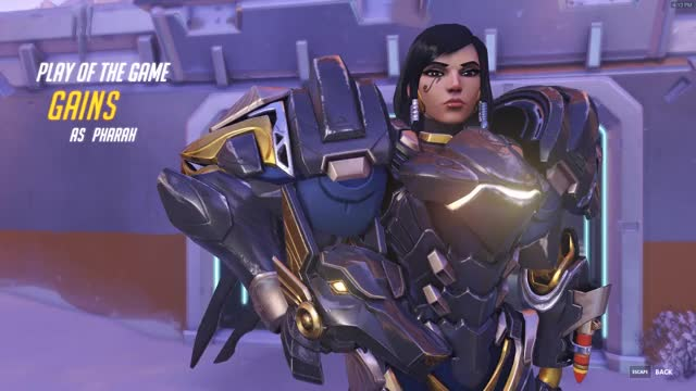 Watch gains pharah GIF on Gfycat. Discover more Overwatch GIFs on Gfycat