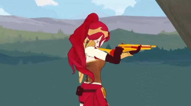 Watch and share Respect Pyrrha Nikos (RWBY) (reddit) GIFs by doctorgecko on Gfycat