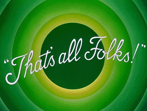 Watch this that's all folks GIF on Gfycat. Discover more related GIFs on Gfycat