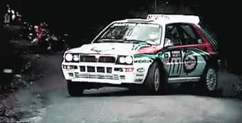 Watch and share Lancia Delta Wrc GIFs and Martini Racing GIFs on Gfycat