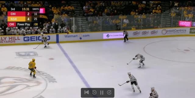 Watch and share Nashville Predators GIFs and Chicago Blackhawks GIFs on Gfycat