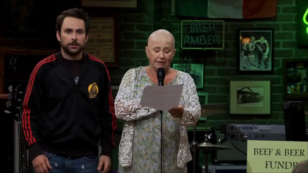 All Tags, always, cancer, charlie, charlie day, dennis, fundraiser, it, philadelphia, sunny, CFB Cancer GIFs