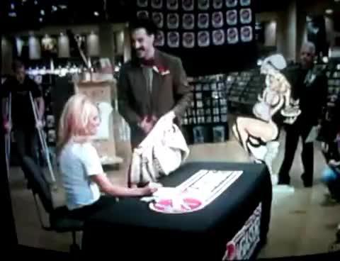 Borat and Pamela Anderson GIFs