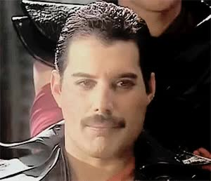 Watch and share Freddie Mercury GIFs on Gfycat