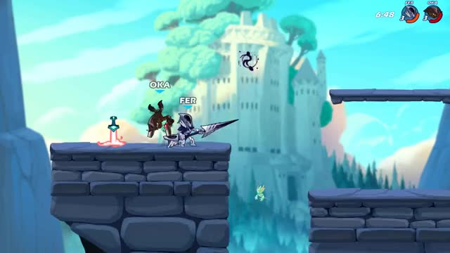 Watch and share Brawlhalla GIFs by ferretnexus on Gfycat
