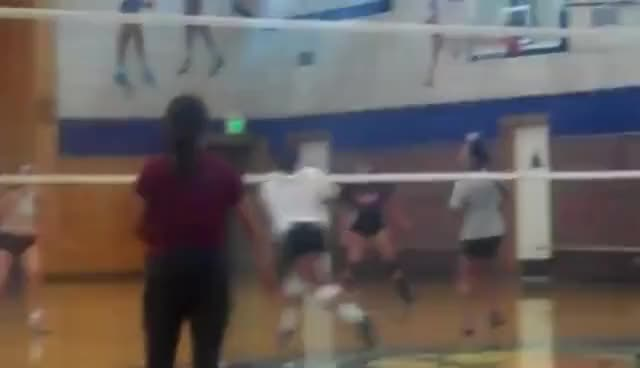 Watch and share Volleyball GIFs and Dig GIFs on Gfycat