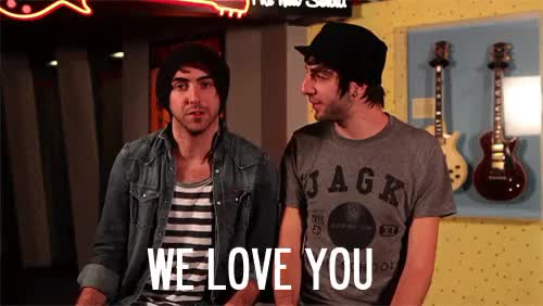 Watch and share All Time Low GIFs and We Love You GIFs on Gfycat