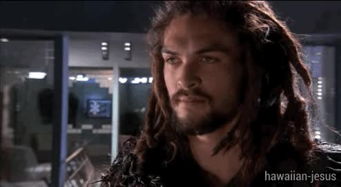 Watch and share Jason Momoa: Hawaiian Jesus GIFs on Gfycat