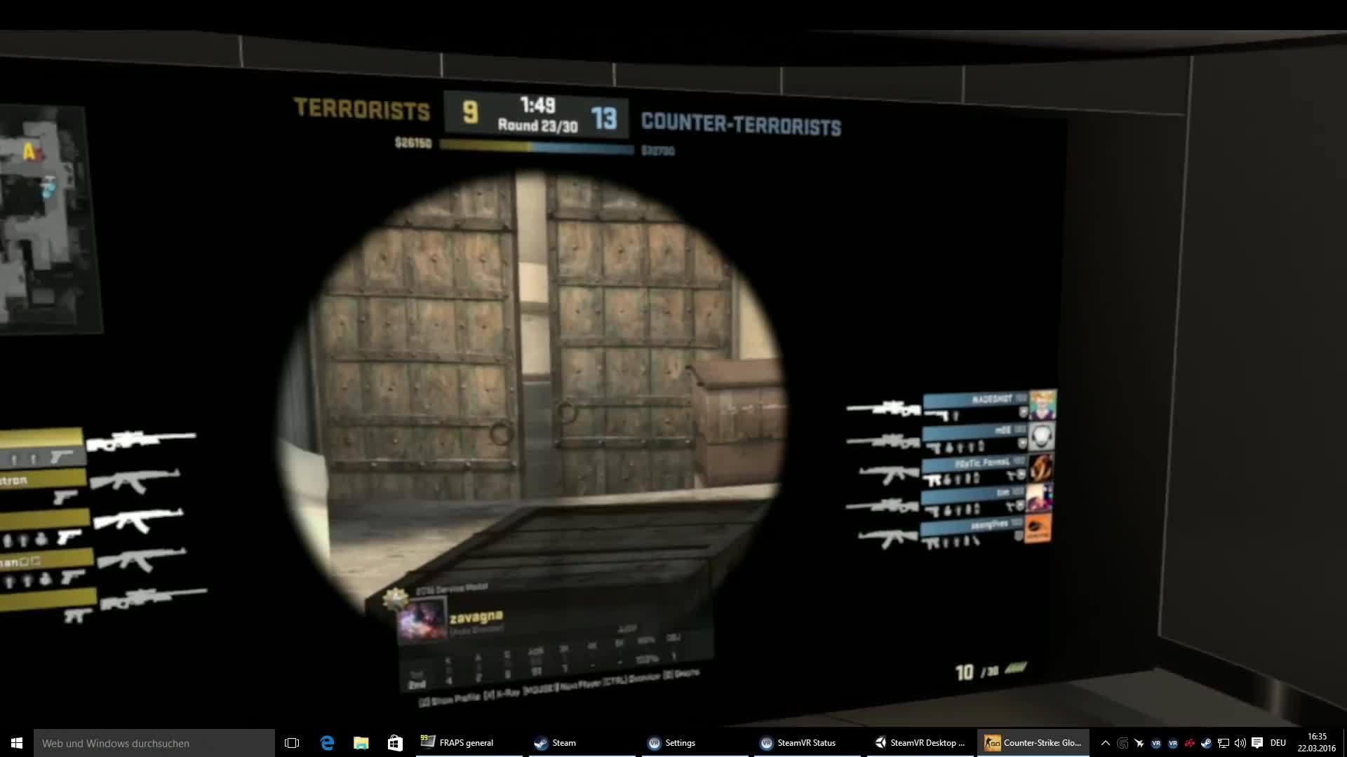 SteamVR Desktop Theater Mode ausprobiert