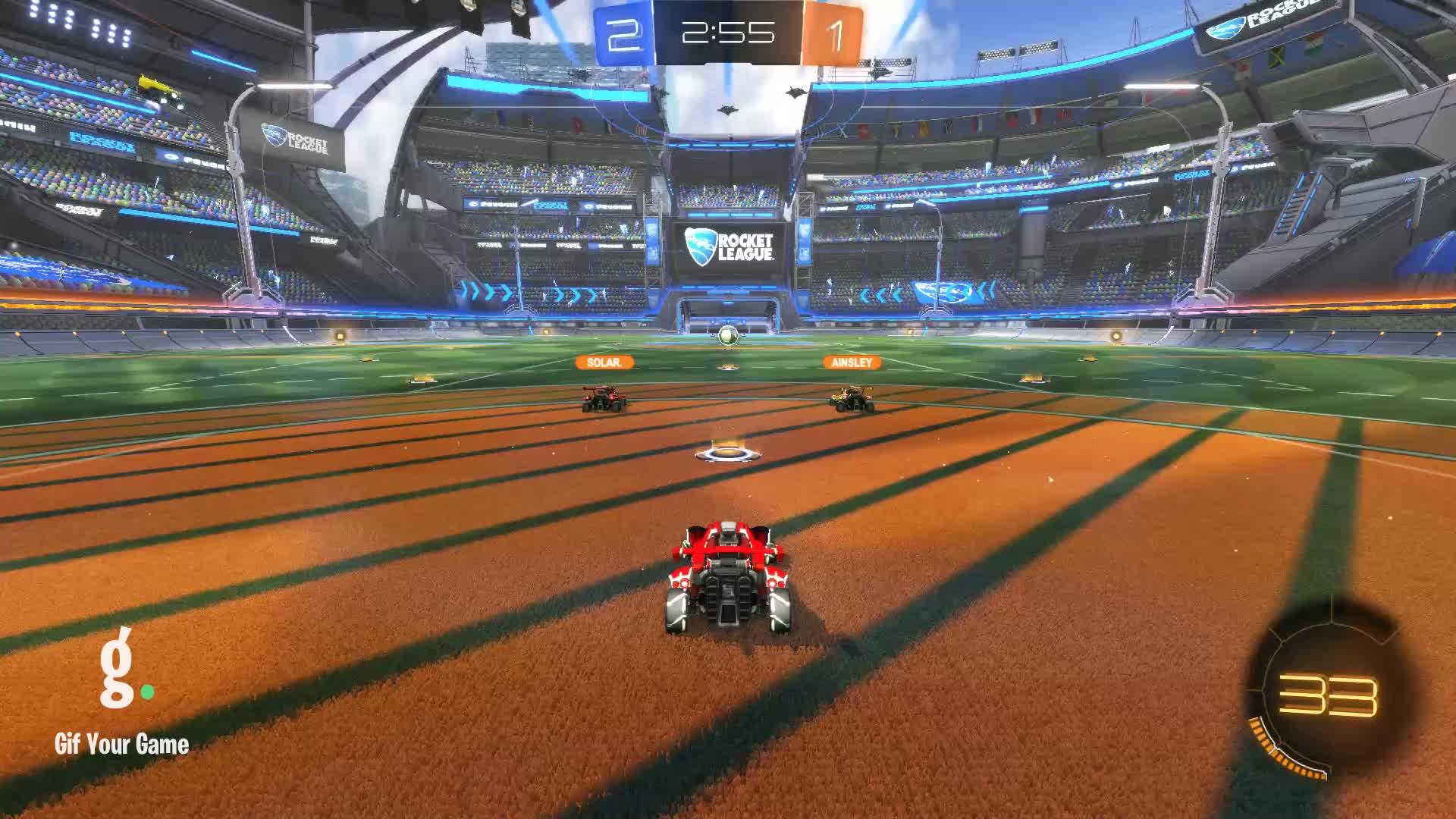 Gif Your Game, GifYourGame, Goal, MjSwartz, Rocket League, RocketLeague, Goal 4: MjSwartz GIFs