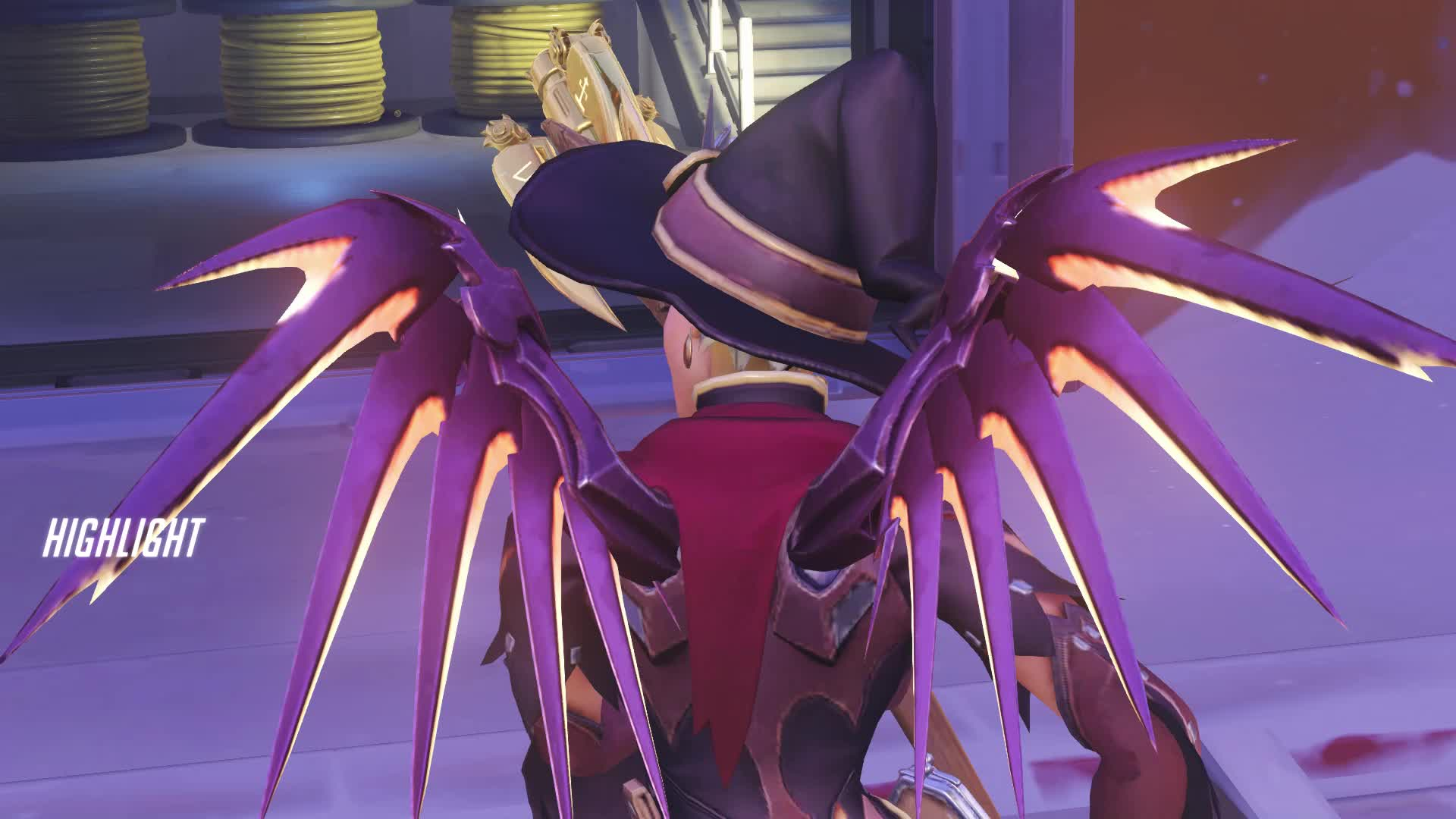 highlight, mercy, overwatch, isabelle jukes a nigger GIFs