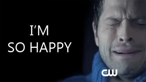 happy crying gif - 500×281