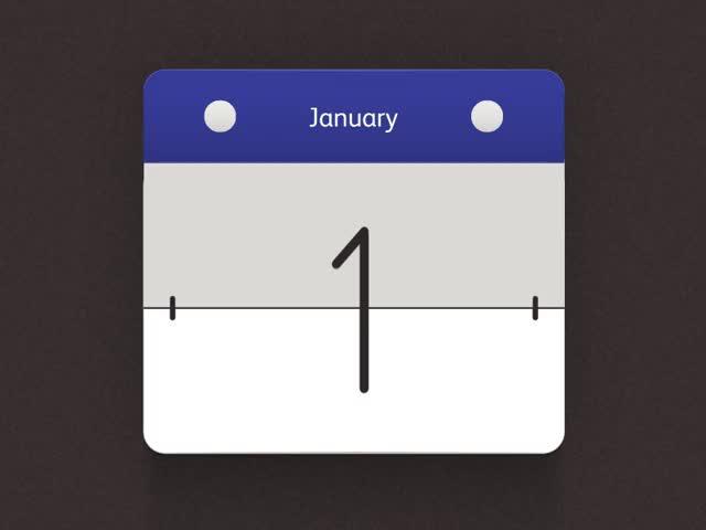 отрывается лист календаря гиф первых строчек песни