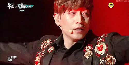 Watch  Moon In My Heart  GIF on Gfycat. Discover more & pretty hands!, KCON15LA, eric moon, eric mun, memaeric:edits, shinhwa, shinhwa LA 2015, shinhwa kcon 2015, shinhwa sniper, sniper, this stare again! GIFs on Gfycat