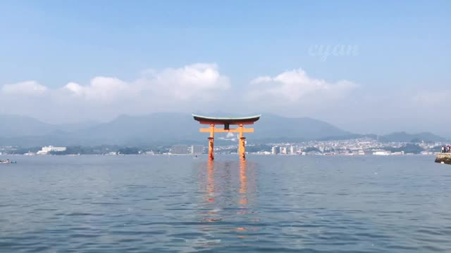 Watch Itsukushima Shrine GIF by @cyan on Gfycat. Discover more related GIFs on Gfycat