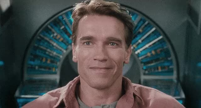 Watch and share Arnold Schwarzenegger GIFs and Total Recall GIFs on Gfycat
