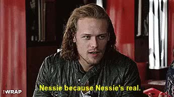 Watch and share Sam Heughan GIFs and Hair Flip GIFs on Gfycat